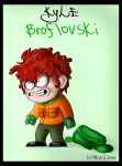 South park - Kyle broflovski by SuperEvilMan