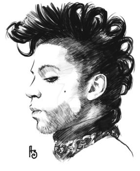 RIP Prince by Adrianohq