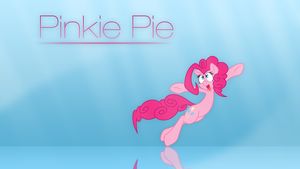 Pinkie Pie Simplistic Wallpaper by Dipi11