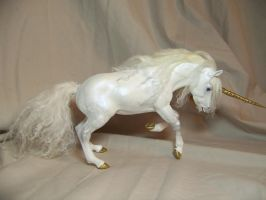 """Champion"" ooak Unicorn 91 by AmandaKathryn"