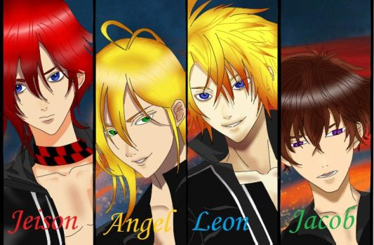 Mis chicos malos ^-^ by vale281