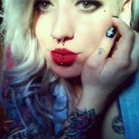green eyes and pale face by ShellyZTrueheartInk