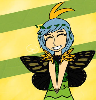 Butterfly Gurl by MikiBandy
