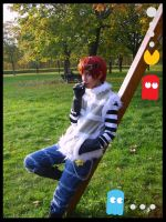 Matt DeathNote cosplay Lucca09 by LocoAddicted