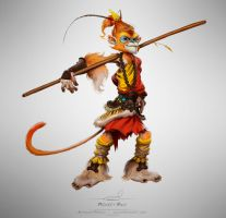 Monkey king by pardoart
