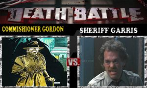 Death Battle:Commishioner Gordon Vs Sheriff Garris by ARTIST-SRF