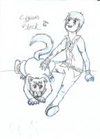Padfoot by Ellz112