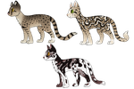 Complex Cat Breedables - Points - CLOSED (for now) by PennyADayAdopts