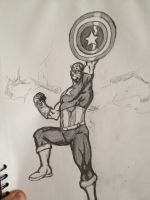 Captain America by Tyleb86