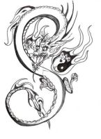 Chinese Dragon by pumibel