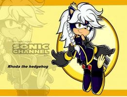 PC:rhoda the hedgehog SA by Xalisha-light-azureX
