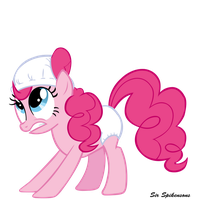 Diaper Pinkie by SirSpikensons