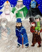 An Avatar Christmas carol by eightcrows