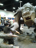 Tampa Bay, Comic Con: Fighting a Monster by Dragonrage19