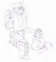 Rung and Charissa (rough) by SamuraiKnight