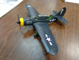 Revell SB2C helldiver 002 by Deamand