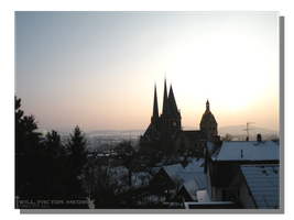 Winter Evening in Gelnhausen by WillFactorMedia
