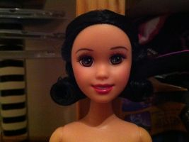Close up of my newest Snow White Doll by SweetHea