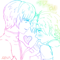 :MxR-Love-Sketchy: by RoyBestWarrior