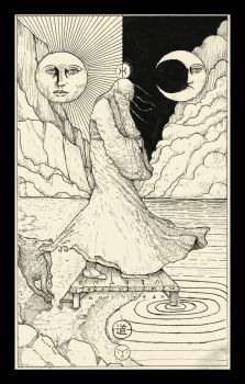 The Fool ( Tarot Card ) by erikemiranda
