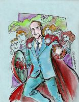 Agent Coulson by mannycartoon