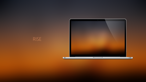 RISE - Coloured Expressions Wallpapers by Ecstrap