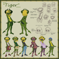 Tiger Reference Sheet by vgfm