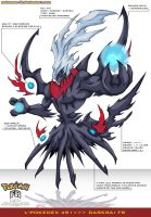 L'Pokedex 491 - Darkrai FR by Pokemon-FR