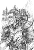 Orc Dovahkiin by anne-wild