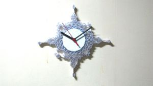 Antique Clock - Quilling by dragaodepapel
