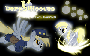 Derpy Hooves Wallpaper by Arakareeis