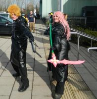 Roxas and Marluxia Telford 2013 by MJ-Cosplay