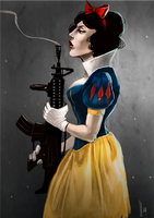snow white by radacs