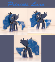 Princess Luna 3: Custom MLP:FIM Figure by alltheApples