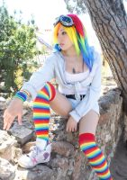 Cosplay Rainbow Dash - My Little Pony by NyuSho