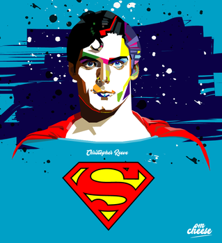 Christhoper reeve - Superman by krosch