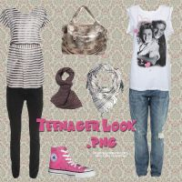 Teenager Look PNG by camiluchiiz