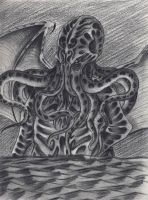 The Greath Cthulhu by verreaux