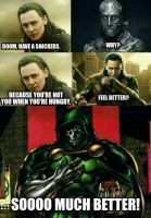 Doom, have a snickers by RobRulz1231Studios