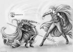 Brother's fight by Develv