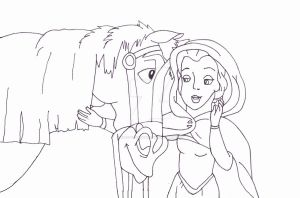 Belle and Phillip by Kirsty2010dodgs