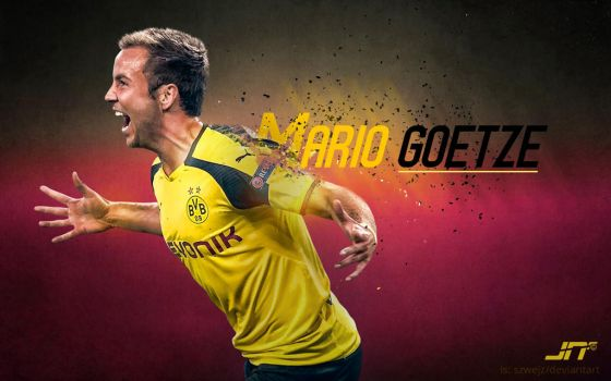 Mario GOETZE. S.A.E! by darling12