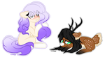 Another pony chibies by KateTheLittlePegasus