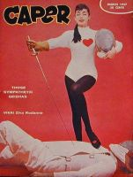 Caper Magazine Cover March 1957 by ContableEnorme