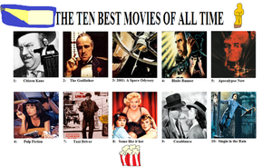 The ten best Movies of all time by Austria-Man
