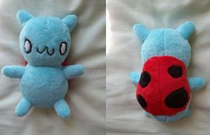 Catbug Plushie by dolphinwing