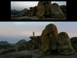 Rock study by jamga