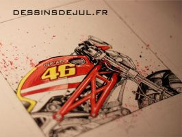 796 ducati rossi by dessinsdejul