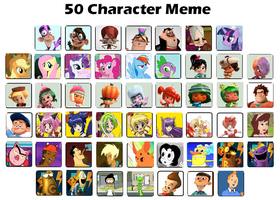My Top 50 Favorite Characters by Toongirl18