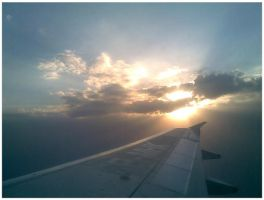 On a plane by blitzkriegBOOM